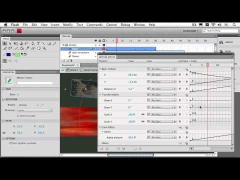 Adobe Flash CS4 Professional Ch 1: Introducing the Motion Editor Panel