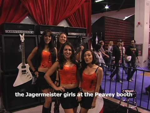 NAMM show peek inside 2010 Jagermeister girls Matchless Amps Bootsy Collins TM Stevens PRS guitars