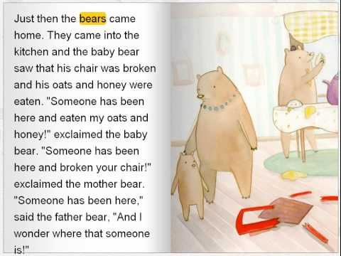 Goldilocks and the Thee Bears