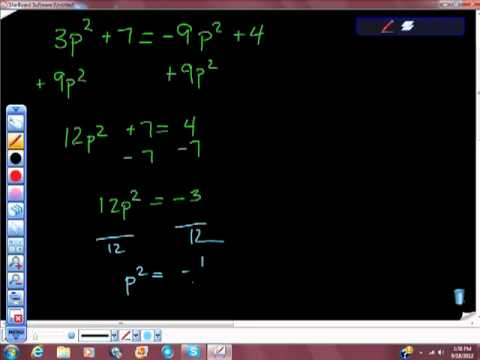 Complex Numbers and the Imaginary Number Pt II