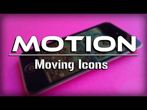 Motion - Animated Moving App Icons on iPhone, iPod Touch & iPad