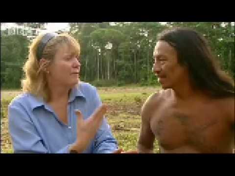 Waorani tribe: Marriage ceremony - Tribal Wives - BBC
