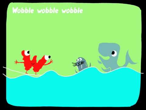 The alphabet for kids. Letter W: WOBBLING WALLY