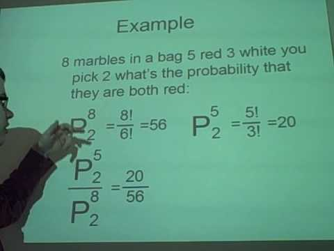 Probability Theory 1- Counting Methods (Permutations and Combinations)