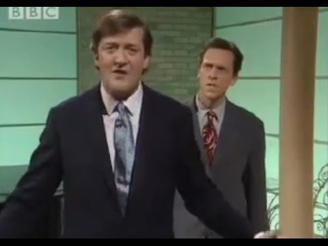 Stephen Fry gets wired - Stephen Fry & Hugh Laurie - BBC comedy