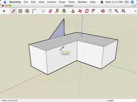 SketchUp: The relationship between edges and faces