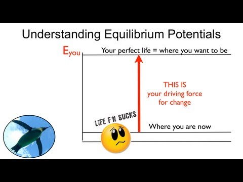 Equilibrium Potentials and Driving Force