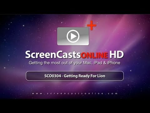 "SCO0304 - Trailer for ""Getting Ready For Lion"" Tutorial"