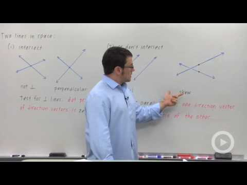 Precalculus - The Equation of a Plane