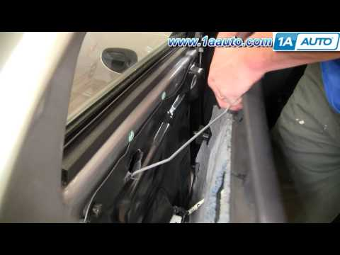How To Install Replace Rear Door Panel Dodge Stratus 01-06 1AAuto.com