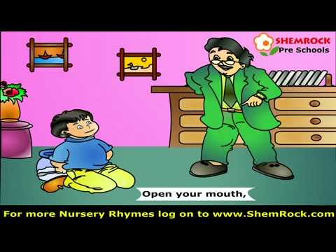 English Poems kids rhymes Johnny Johnny Yes Papa.Mp4