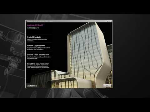 Network Install of Autodesk Revit Architecture 2011