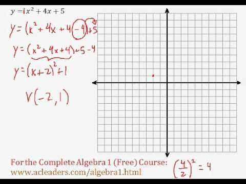 (Algebra 1) Quadratics - Graphing Quadratic Functions (General Form) Pt. 4