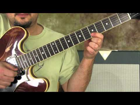 Blues Rock Guitar Lessons - Lead guitar - Solos - guitar exercises - pentatonic scale
