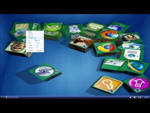 Shock Desktop 3D - 3D Desktop for Windows