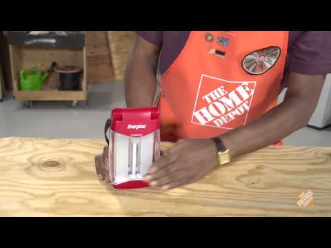 Energizer Weather Ready LED Folding Lantern  - The Home Depot