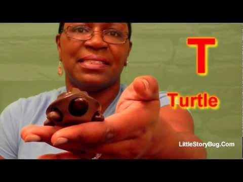 Preschool Activity - T is for Turtle - Littlestorybug