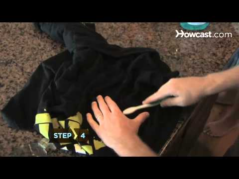 How to Get Oil Stains out of Clothing, Carpet, and Fabric