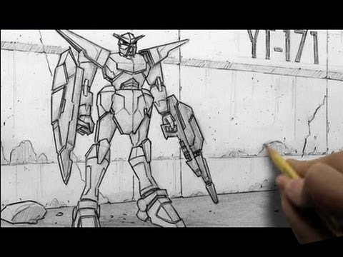 "How to Draw Mecha/""Gundam-Like"" Characters"