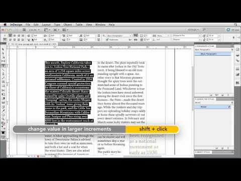 How to create InDesign paragraph styles | lynda.com tutorial