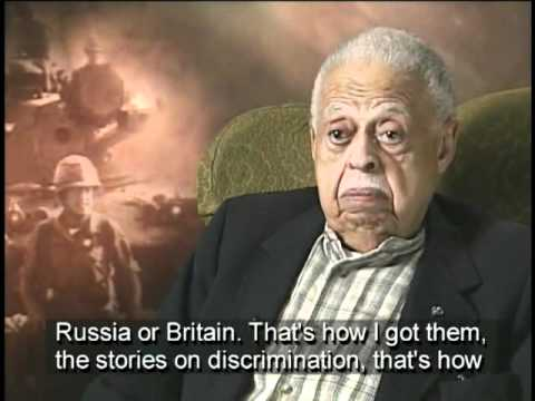 Frank Bolden on Anticipating Discrimination in War Reporting in WWII