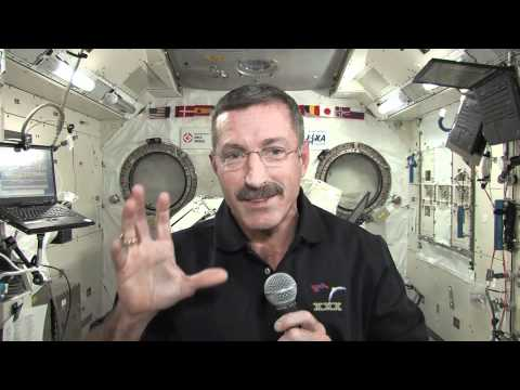 Thanksgiving in Space for New ISS Commander