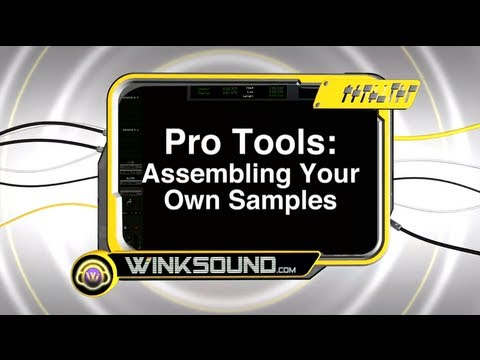 Pro Tools: How To Edit And Save Custom Samples | WinkSound