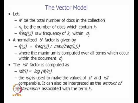 Mod-01 Lec-25 IR Models: NLP and IR Relationship