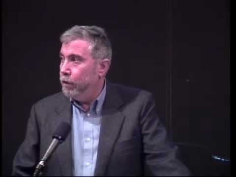 The Geopolitical Implications of the Financial Crisis with keynote address by Paul Krugman