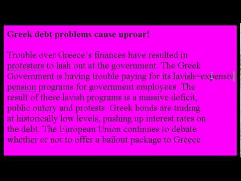 Accent Reduction Learn English Lesson #9 - Greece Riots