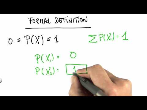 Formal Definition Of Probability 2 Solution - CS373 Unit 1 - Udacity