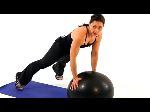 How to Use an Exercise Ball | Boot Camp Workout for Women