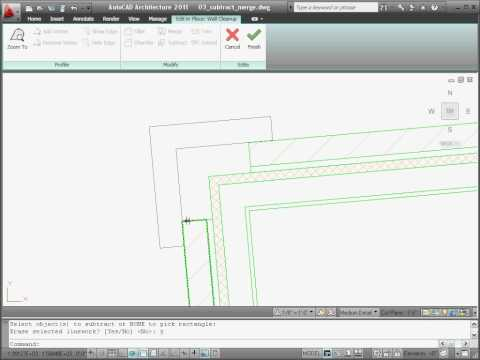Customizing Wall Cleanups — AutoCAD Architecture 2011