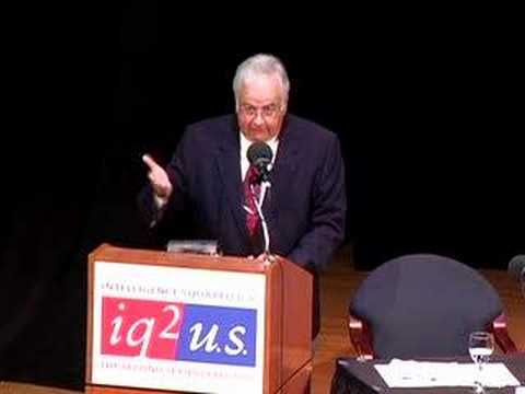 Undocumented Immigrant Debate: Vernon M. Briggs (4 of 12)