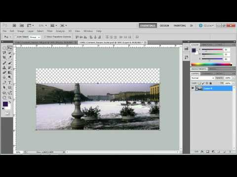 Adobe CS5 Design Workflow:  RASTER IMAGE EDITING WITH PHOTOSHOP: Content-Aware Scale & Fill