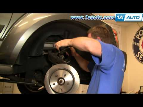 How To Install Replace Front Brakes Dodge Durango 04-09 1AAuto.com