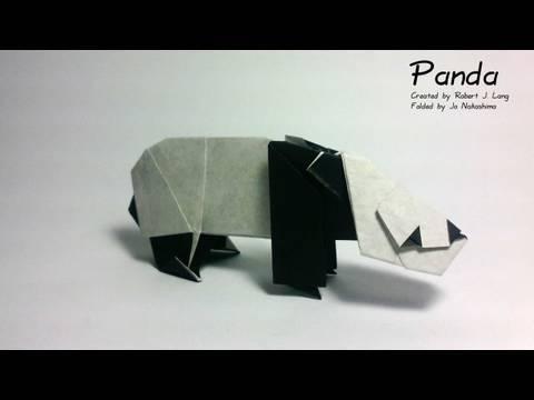 Origami Panda (Robert J. Lang)