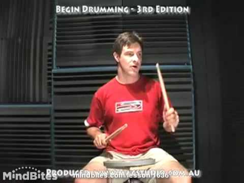 How to Play Drums: Semiquaver Rest Exercise