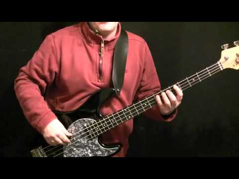 Learn How To Play Bass Guitar To Don't Stop by Fleetwood Mac - bass guitar by John McVie
