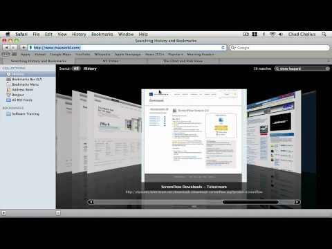Mac OS X Snow Leopard: BROWSING THE WEB WITH SAFAR . Revisiting Sites Using History