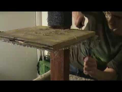 Cat Scratcher Re-Carpeting - Part 1