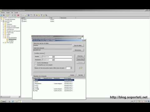 Windows Server 2008 - Delegar control