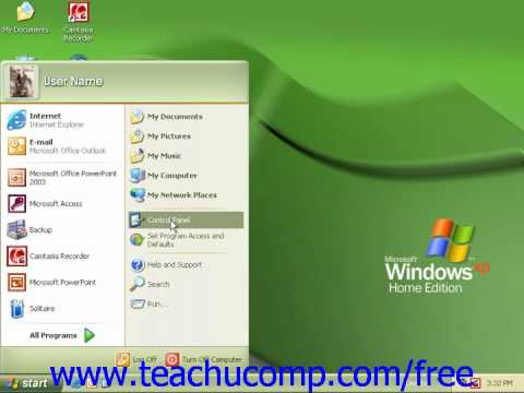 Windows XP Tutorial Adding Printers Microsoft Training Lesson 2.13