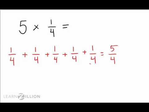 Multiply fractions by whole numbers using repeated addition - 4.NF.4