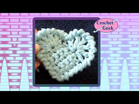 Art of Crochet by Teresa - Crochet Solid Heart