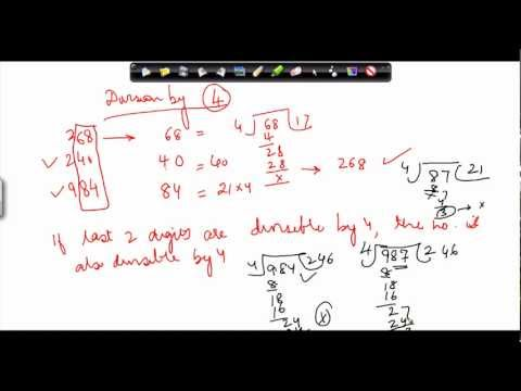 35. CBSE Class VI maths,  ICSE Class VI maths -  When is a number divisible by 3