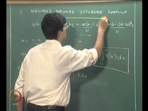 Mod-06 Lec-22 Differentiation and Integration Part 3