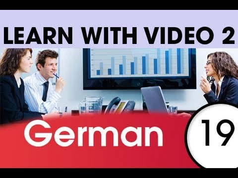 Learn German with Video - German Words for the Workplace