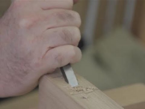 How To Use Your Mortise Chisel