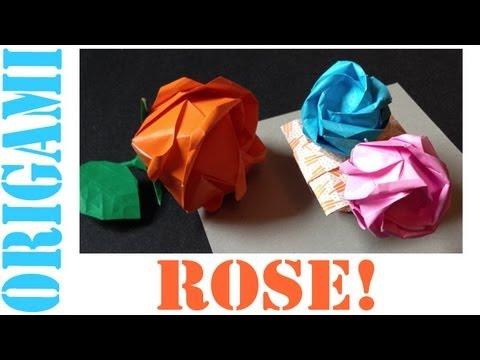 Origami Daily - 349: Kawasaki Rose - TCGames [HD]